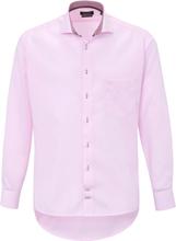 Skjorta hajfenskrage i 100% bomull från Hatico rosa