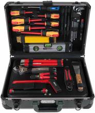 """KS Tools Verktygssats för elektriker 128 delar 1/4"""" + 1/2"""" 911.0628"""