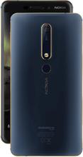 Nokia 6 (2018) TA-1068 4GB/64GB Dual-SIM ohne SIM-Lock - Blau Gold (Nokia 6.1) ohne Handsfree