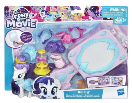 My Little Pony Mirror Boutique - Rarity lekesett med tilbehør