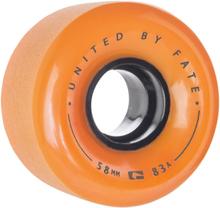 Globe Bruiser 58mm Wheels orange/black/black Uni