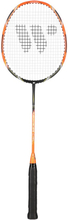 Badmintonracket (orange &amp svart) FUSIONTEC 973