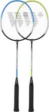 Badmintonset (grön, blå &amp svart) ALUMTEC 216K