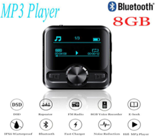 HIFI Sports Bluetooth MP3 Player speakers