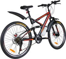 "Mountainbike Target 26"" - Röd"