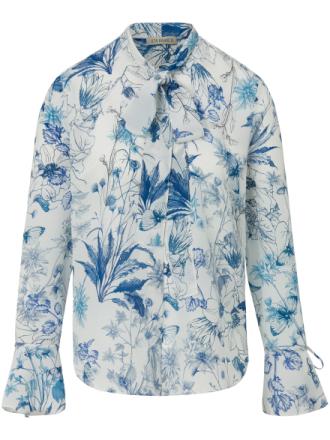 Blus i 100% silke från Uta Raasch mångfärgad