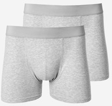 Boxerkalsonger med långa ben, 2-pack