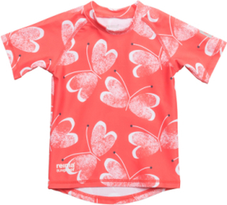 Azores Swimwear UV Clothing UV Tops Rød REIMA