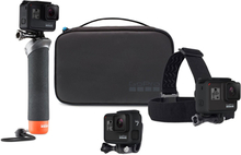 GoPro Adventure Kit- Headstrap, Handler and Casey