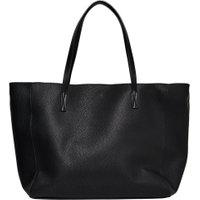 ONLY Leather Look Bag Kvinna Svart