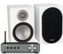 WXA-50 + Monitor Audio Silver 100
