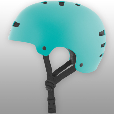 TSG hjelm - Evolution Solid Color Satin Petrol