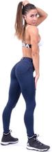 Nebbia Bubble Butt Pants, blue, medium Träningstights dam