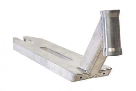 TSI Shred Sled Integrated Deck - Sølv