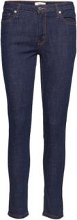 Skinny Olivia Jeans Skinny Jeans Blå MANGO