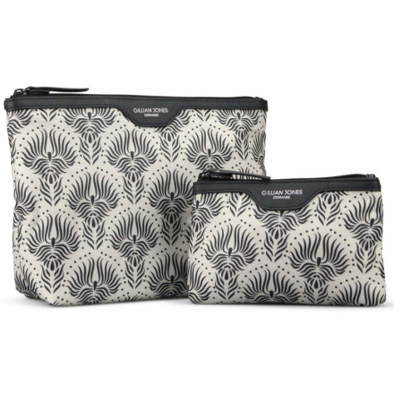 Gillian Jones Urban Travel 2 Piece Set BeigeBlack 625003