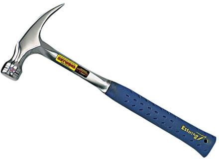 Estwing Snekkerhammer E320S m/rett klo