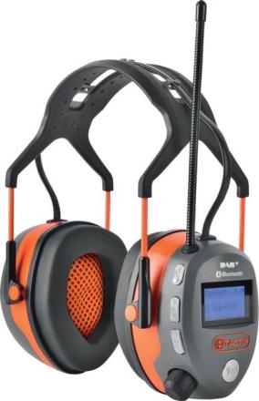 Tactix hørselvern DAB+/FM/Bluetooth/Lyttefunksjon