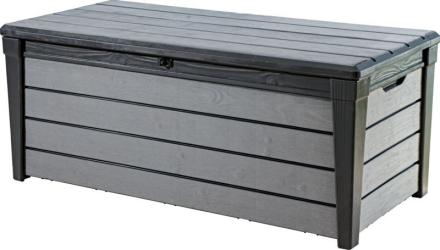Keter Putekasse Brushwood grå 454L (frakt inkl.)