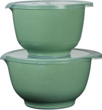 Margretheskålarset 2 + 3 L Jadegrön, Rosti Mepal