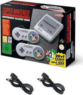 Nintendo SNES Classic Mini Edition spelkonsol inklusive förläningskabl