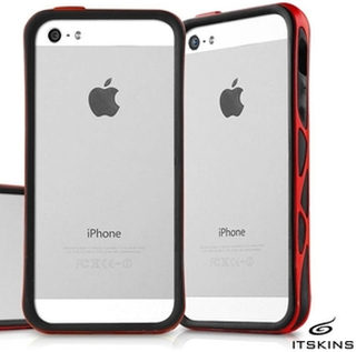 ITSkins Venum Bumper skal till Apple iPhone 5 / 5S / SE (Red / S