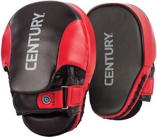 Talet Drive kampsporter utbildning böjda Punch vantar - röd/svart