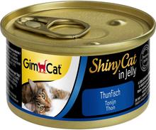 GimCat ShinyCat Jelly 12 x 70 g - Kylling