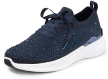 Sneakers HighSoft Wovenstretch från ARA blå