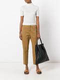 Jil Sander Attila cropped trousers - Brown