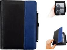 Antgamer Kindle Touch-etui med Stylus-penn - PU-lær - svart / blå