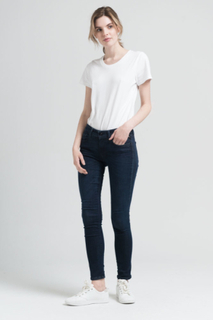 Replay SKINNY FIT JEANS HYPERFLEX LUZ Kvinna