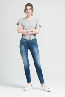 Replay SKINNY FIT JEANS LUZ Kvinna