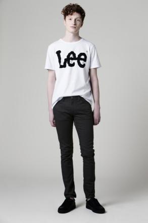 Lee SLIM TAPERED FIT JEANS LUKE CLEAN BLACK Man