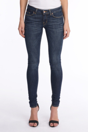 Tiger of Sweden SKINNY FIT JEANS SLIGHT AURA Kvinna