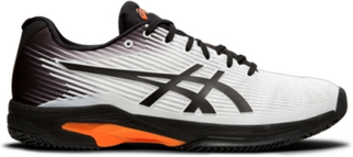 Asics Solution Speed FF White/Black/Orange 42
