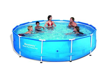 Bestway - Steel Pro Frame Pool 366x76cm with pump (6473L)(56416)