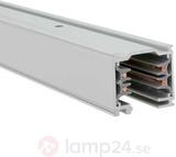 3-fasströmskensystem aluminium-natur 1m