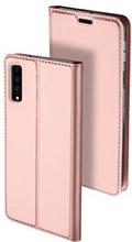 Dux Ducis Skin Pro Samsung Galaxy A7 (2018) Flip Cover - Rødguld