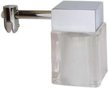 Loevschall Cube speillampe til montering på speil, Krom/Hvit