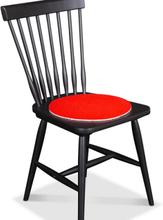 2 st Nova stolsdyna med antiglid - Röd