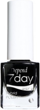 Depend 7day Nailpolish Goth Black