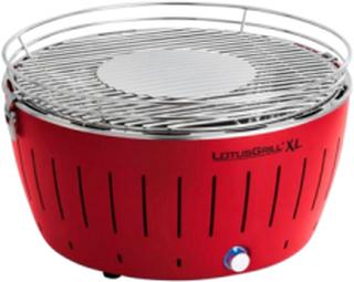 Røykfri Kullgrill 43,5cm Rød