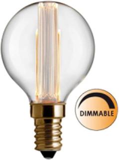Globen Lighting Ljuskälla Laser LED Filament DimbaKlar Glob 80 mm E14