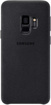 Samsung Galaxy S9 Alcantara Cover - Svart