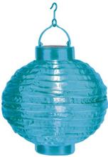 Risboll Blå LED m solpanel