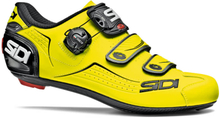 Sidi Alba Road Shoes - Yellow Fluo/Black - EU 44 - Yellow Fluo/Black
