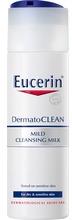 Eucerin DermatoCLEAN Mild Cleansing Milk Oparfymerad 200 ml - Kräm För Torr Hud