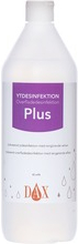 DAX ytdesinfektion Isopropanolbaserat desinfektionsmedel. 1 liter