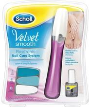 Scholl VS Elektrisk nagelfil rosa 1 st